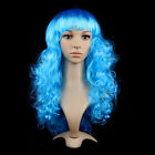 Women's Sexy Long Curly Fancy Dress Wigs Cosplay Costume Ladies Full Wig Party #