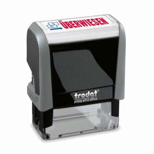 "trodat Textstempelautomat Office Printy 4.0 4912 /""ÜBERWIESEN/"""