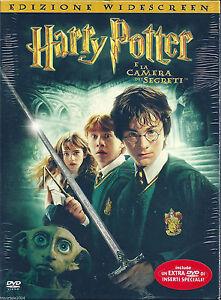 Harry-Potter-e-la-camera-dei-segreti-2002-2DVD-NUOVO-SIGILLATO-Digipack-Versio