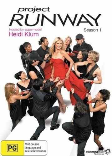 1 of 1 - A10 BRAND NEW SEALED Project Runway - Season 1 Heidi Klum Region 4 DVD Australia