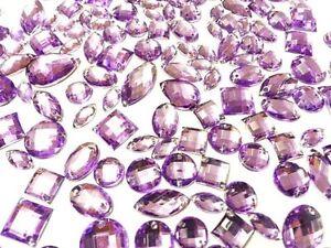 Rhinestones GEMS Dress Making Sew//Stitch on ZEBRA Animal Print ACRYLIC Crystals