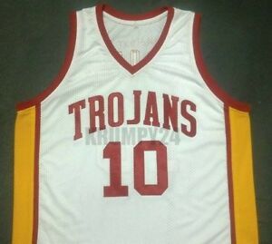 designer fashion 84426 71535 Details about DeMAR DeROZAN USC Trojans White College Jersey Gift Any Size