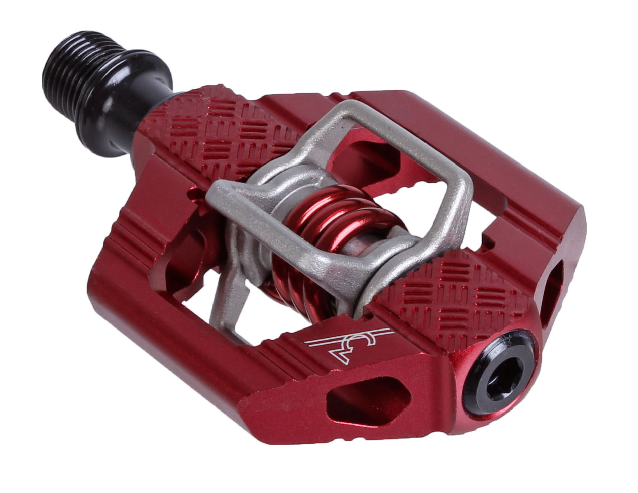 Crank Brothers 2018 Candy 3 MTB Fahrrad Fahrrad Pedals with Cleats - Dark rot