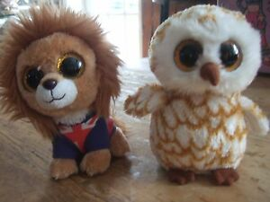2 ORPHANS    A LION AND AN OWL SOFT TOY - <span itemprop=availableAtOrFrom>Tunbridge Wells, United Kingdom</span> - 2 ORPHANS    A LION AND AN OWL SOFT TOY - Tunbridge Wells, United Kingdom