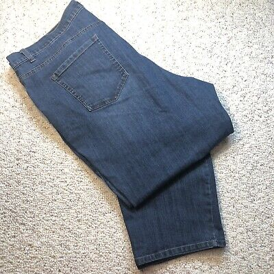 "GLORIA VANDERBILT/""Amanda/""Tapered Jeans Pant in BLACK OPAL Women/'s Plus 24W Short"
