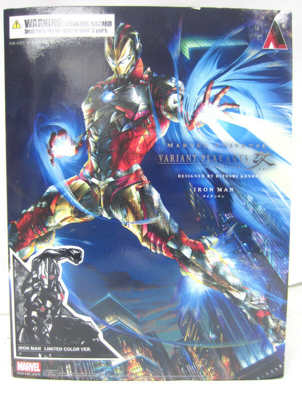 Iron Man  Limited color Vers Variant Play Arts Action Figure Kai Marvel Universe