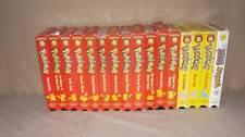 Pokemon Lot of 16 VHS Videos red yellow cases Winter Vacation VIZ 4 kids pioneer