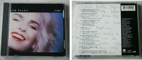 1 von 1 - SAM BROWN Stop! .. 1988 A&M CD