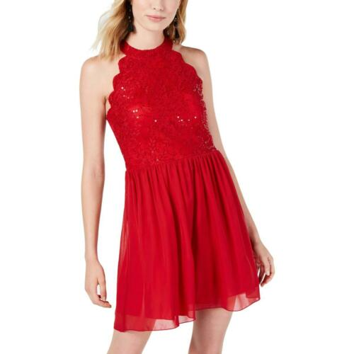 Speechless Womens Lace Sequined Night Out Party Dress Juniors BHFO 5004