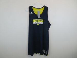 Michigan Wolverines Adidas Women's Team Issued Basketball Jersey ...