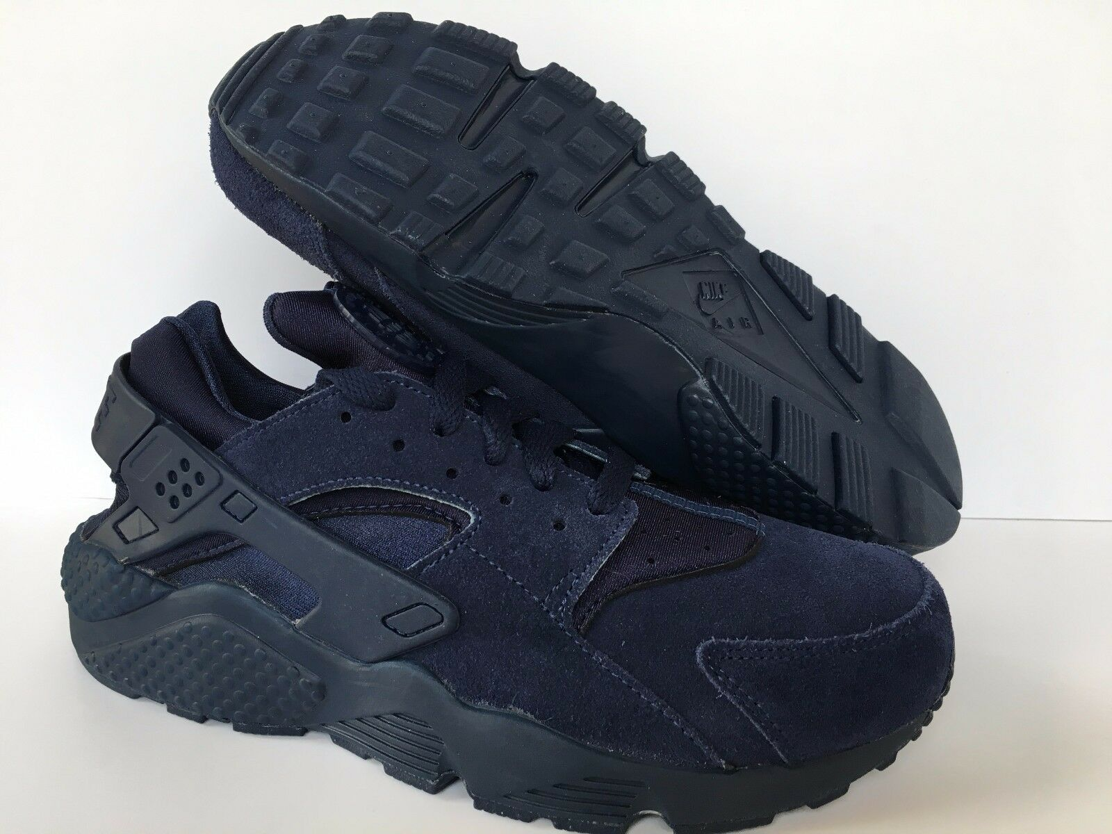 Nike Air Huarache courir iD NikeiD Bleu Leather homme 777330 989 Sz 8