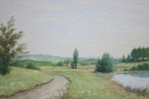 Gustav-Mueller-Aquarell-Tal-Landschaft-August-1979