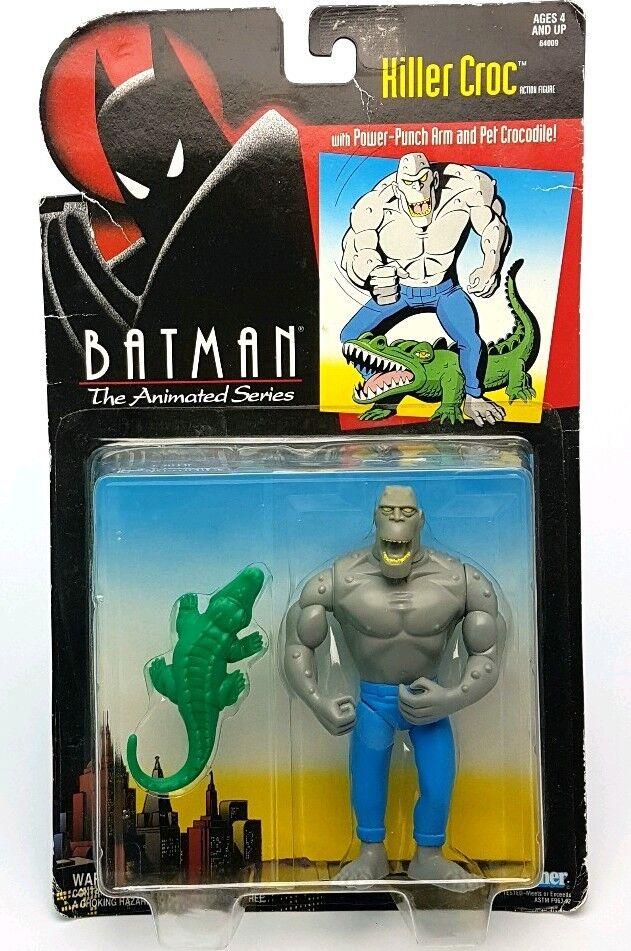 Vintage   KILLER CROC BATMAN The Animated Series Figure Figure Figure MOC   BTAS Sealed Kenner 6f7806