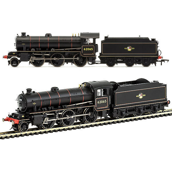HORNBY Loco R3417 BR 2-6-0 '62065' K1 Class - Late BR