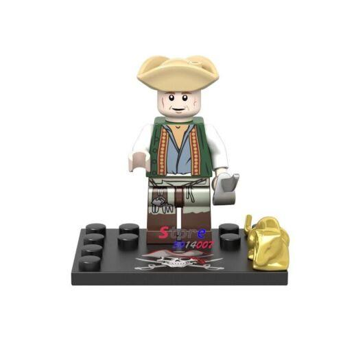 Minifiguren Captain Caribbean Pirates Jack Sparrow Konstruktion Lego kompatibel