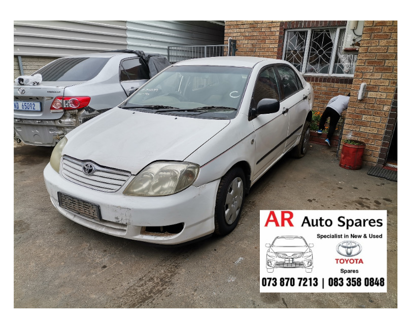 Toyota Corolla Runx stripping for spares