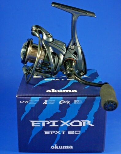 Okuma Epixor XT EPXT-20 FD 7+1BB 5.0:1 57720 Front Drag Fishing Reel