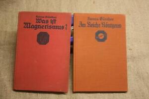 2-Fachbuecher-Roentgen-Roentgenapparate-Magnetismus-Roentgenbilder-Versuche-1930