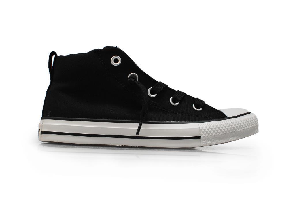 Converse Unisex Chuck Taylor Street Mid - 144640C-nero Scarpe Da Ginnastica Scarpe classiche da uomo