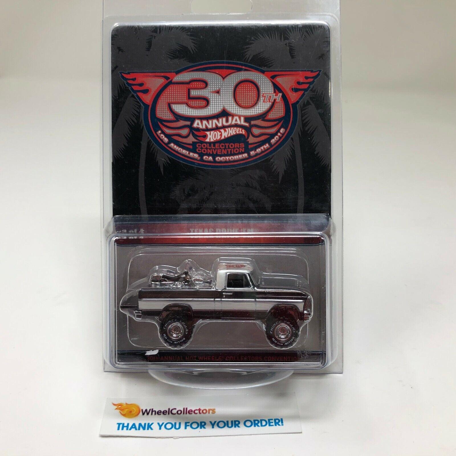 Texas Drive 'Em  Hot Wheels 30th Collectors Convention  QA4