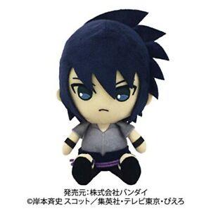 Bandai-NARUTO-Shippuden-Chibi-Plush-Sasuke-Uchiha-from-JAPAN-F-S