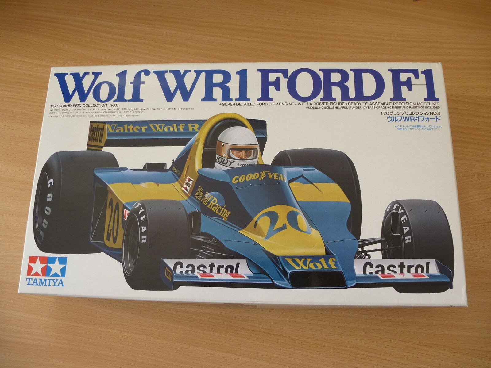 Tamiya 1 20 Wolf WR1 Ford F1