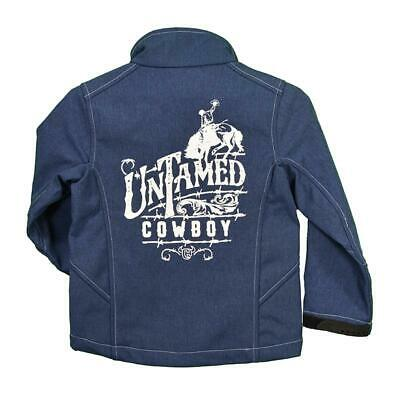 Cowboy Hardware Boys Heather Navy Tough Vest 387100-484