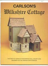 Wilkshire Cottage dollhouse Plans Book 1/12 scale - Carlson ACP8467