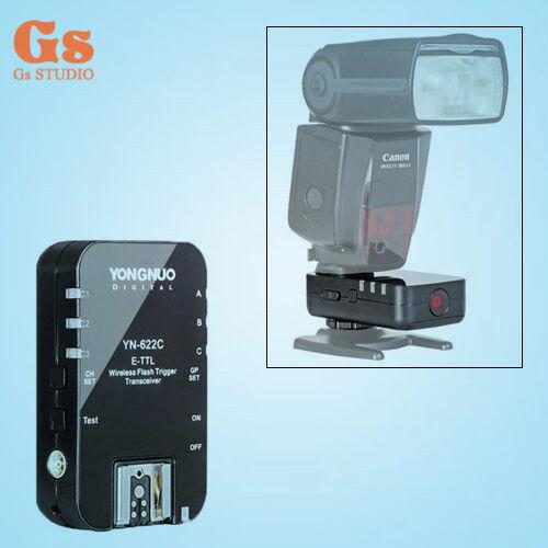 1pcs Yongnuo YN-622C TTL sans fil Déclencheur Flash pour Canon 7D 5D 5DII 5DIII
