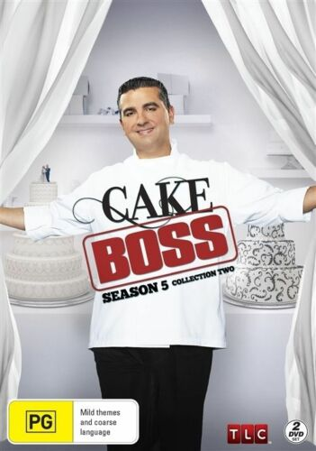 1 of 1 - Cake Boss : Season 5  Collection 2 : NEW DVD