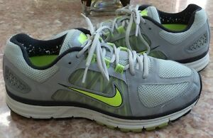 Details about Nike Zoom Vomero+ 7 Women's Gray Volt Running Training Shoes Size 10 #511559 070