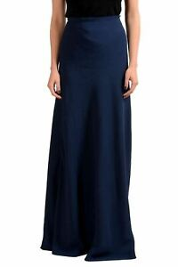 Maison-Margiela-4-Navy-Women-039-s-Maxi-Skirt-US-M-IT-42