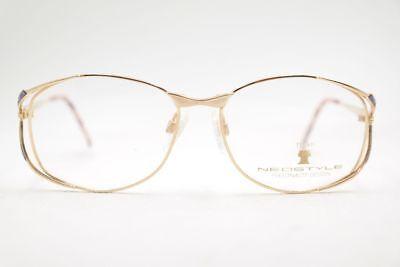 Abile Vintage Neostyle Boutique 371 521 55 [] 17 135 Oro Ovale Occhiali Eyeglasses Nos-mostra Il Titolo Originale Acquisto Speciale