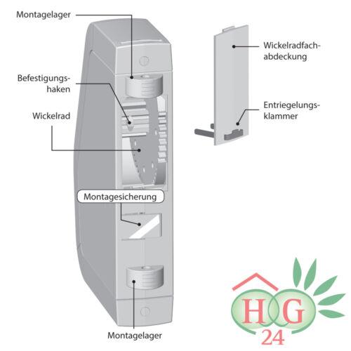Rademacher rollotron eléctrica gurtwickler enrrollable cinturón motor 1540 estándar