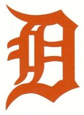 REFLECTIVE Detroit Tigers fire helmet decal sticker yeti WV hardhat