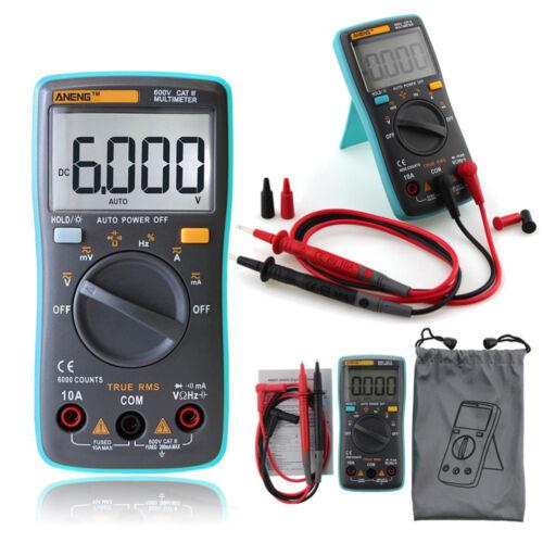 LCD Digital Multimeter Voltmeter Ammeter Tester Meter OHM Volt AC DC Circuit UK