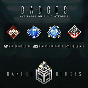 TRUSTED-Apex-Legends-20k-4k-badge-All-badges-XBOX-PS4-PC-READ-Description