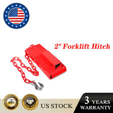 Forklift Hitch Receiver Trailer Adapter 2 Hitch Receiver 2 Powder Coated