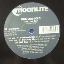 "Graham Gold(12""Vinyl)The Lost City-Italy-MOON 010-Moonlite-/Ex"