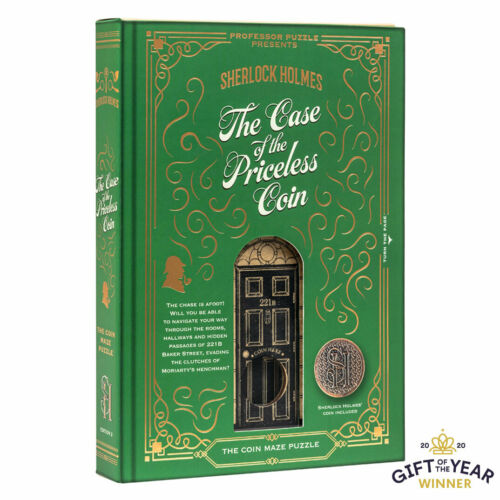 Sherlock Holmes The Case of the Priceless Coin by Professor Puzzle