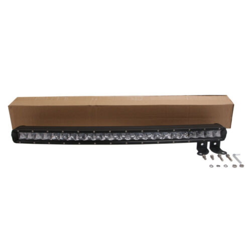 """25inch 120W Curved Cree Led Light Bar Combo Truck 4WD UTE Single Row Slim 24//26/"""""""
