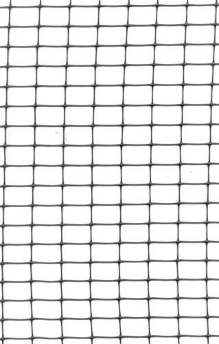Geflügelnetz schwarz Geflügelzaun Hühnernetz für Tiergehege 1mx25m 15x22 mm