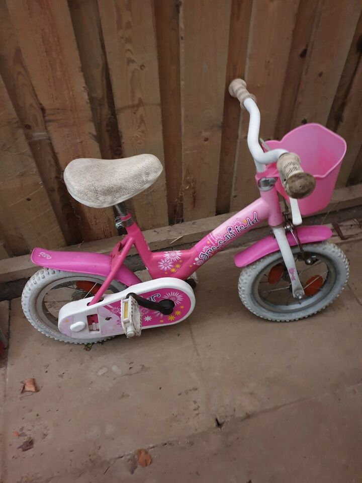 Pigecykel, classic cykel, 12 tommer hjul