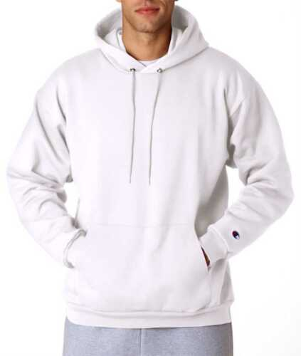 S126 Champion Men/'s Eco Coverstitched Throughout Perfect Fleece Pullover Hooded