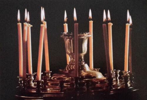 400 gr Церконые восковые свечи 100/% Bienenwachs Kerzen   80 Stück Nr 80