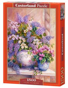 Castorland C-151653-2 - Lilac Flowers, Puzzle 1500 Teile - Neu