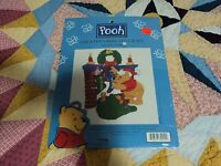 2 Winnie The Pooh Counted Cross Stitch Kit In Package.