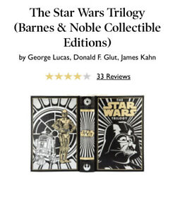 STAR-WARS-Trilogy-Exclusive-Barnes-amp-Noble-Collectible-Edition-HardCover-Leather