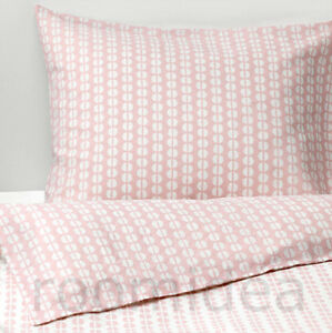 ikea fj llvedel bettw sche set 140x200cm bettbezug rosa 100 baumwolle neu ebay. Black Bedroom Furniture Sets. Home Design Ideas