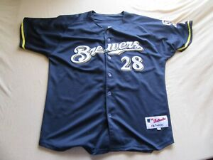 a0feace5a Image is loading Mens-Vintage-Majestic-MLB-Milwaukee-Brewers-Prince-Fielder-